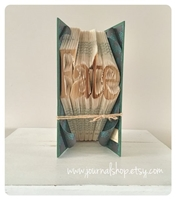 Picture of Book Folding Pattern - Fate