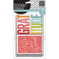 Picture of Pocket Pages Themed Cards 72/Pkg - Story of Me