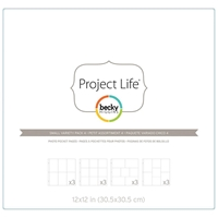 Picture of Project Life Photo Pocket Pages - Small Variety Pack 4