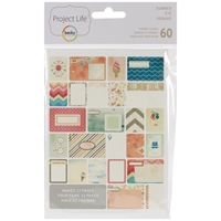 Picture of Project Life Themed Cards - Summer