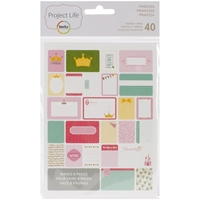 Picture of Project Life Themed Cards - Princess