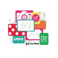 Picture of Project Life Specialty Foil Card Pack - Confeti