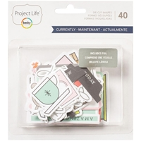 Picture of Project Life Ephemera Die-Cut Shapes - Currently
