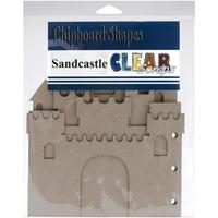 Picture of Clear Scraps Sandcastle Chipboard Album
