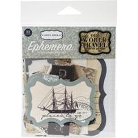Εικόνα του Carta Bella Old World Travel Ephemera Cardstock Die-Cuts