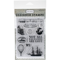 Picture of Carta Bella Stamps - Post Card