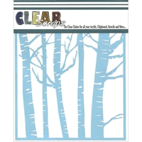 Picture of Clear Scraps Stencil - Forest
