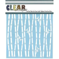 Picture of Clear Scraps Stencil - Bamboo
