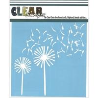 Picture of Clear Scraps Stencil - Dandellion Wind