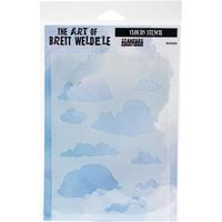 Picture of Brett Weldele Stencils - Clouds
