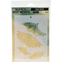 Picture of Brett Weldele Stencils - Wings
