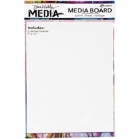 """Picture of Dina Wakley Media Board 9""""X12"""""""