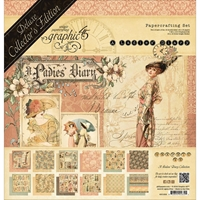Picture of  Graphic 45 Deluxe Collector's Edition Pack - A Ladies' Diary