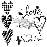 Picture of Crafter's Workshop Template 15x15 - Complicated Hearts