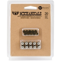 Picture of Mechanicals Metal Embellishments - Mini Hardware