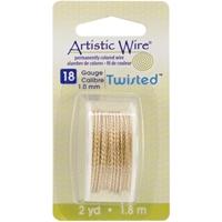 Picture of Artistic Wire Twisted - Non Tarnish Brash