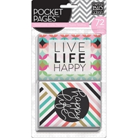 Picture of Pocket Pages Themed Cards 72/Pkg - Peony Love