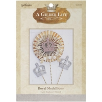 Picture of A Gilded Life Die - Royal Medallions