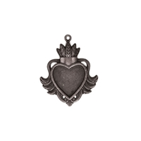 Picture of A Gilded Life - Heart Bezel Large Silver