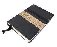 Picture of Artway Doodle Leather Bound Journal - Black