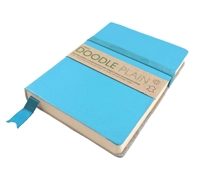 Picture of Artway Doodle Leather Bound Journal - Surf