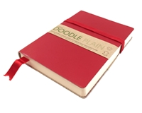 Picture of Artway Doodle Leather Bound Journal - Chilli