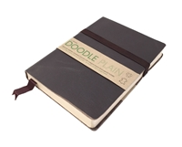 Picture of Artway Doodle Leather Bound Journal - Cocoa