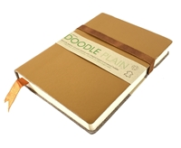 Picture of Artway Doodle Leather Bound Journal - Toffee