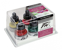 Εικόνα του FW Acrylic Ink Artists Set - Primary Colours