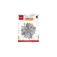 Picture of Doodle Clear Stamps - Poinsettia