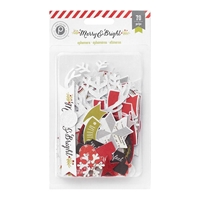 Picture of Merry & Bright Ephemera Cardstock Die-Cuts