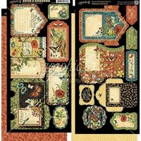 Εικόνα του Nature Sketchbook Chipboard Die Cuts: Tags & Pockets