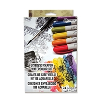 Picture of Distress Crayon Watercolor Kit