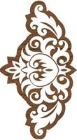 Εικόνα του Fabric Creations Block Printing Stamps - Border Baroque