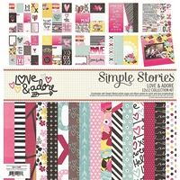 """Picture of Love and Adore Collection Kit 12""""X12"""""""