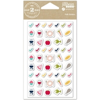 Picture of Day2Day Planner Puffy Stickers - Meal Time