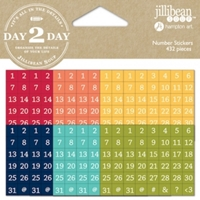 Picture of Day2Day Planner Number Stickers