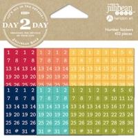 Εικόνα του Day2Day Planner Number Stickers