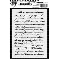 Εικόνα του Carabelle Studio Template A6 - Handwritten Text