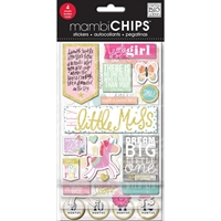 Picture of MambiChips Chipboard Value Pack - Little Girl