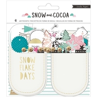 Picture of Snow & Cocoa Mason Jar Pockets