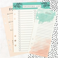 Picture of My Prima Planner Dry Erase Board Inserts - Colored