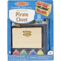 Εικόνα του Decorate Your Own Wooden Chest - Pirate