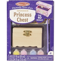 Εικόνα του Decorate Your Own Wooden Chest - Princess