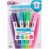 Εικόνα του Tulip Fabric Color Crayons - Bright