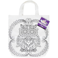 Picture of Tulip ColorMe Canvas Tote - Owl