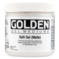 Picture of Golden Soft Gel - Matte