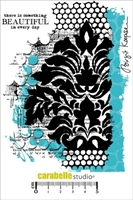 Picture of Cling Stamp A6 - French Lily Background by Birgit Koopsen