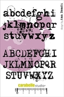 Picture of Cling Stamp A6 - Alphabets by Ana Bondu