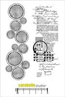 Picture of Cling Stamp A6 - Des Ronds et du Texte